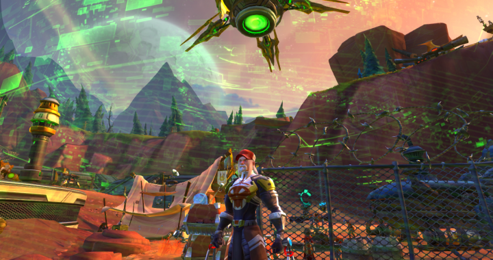 WildStar Online: Out West, In Space