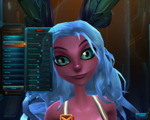 Carbine Studios / Matthew E. Semrau For an MMO, Wildstar provides amazing customization—especially for faces.