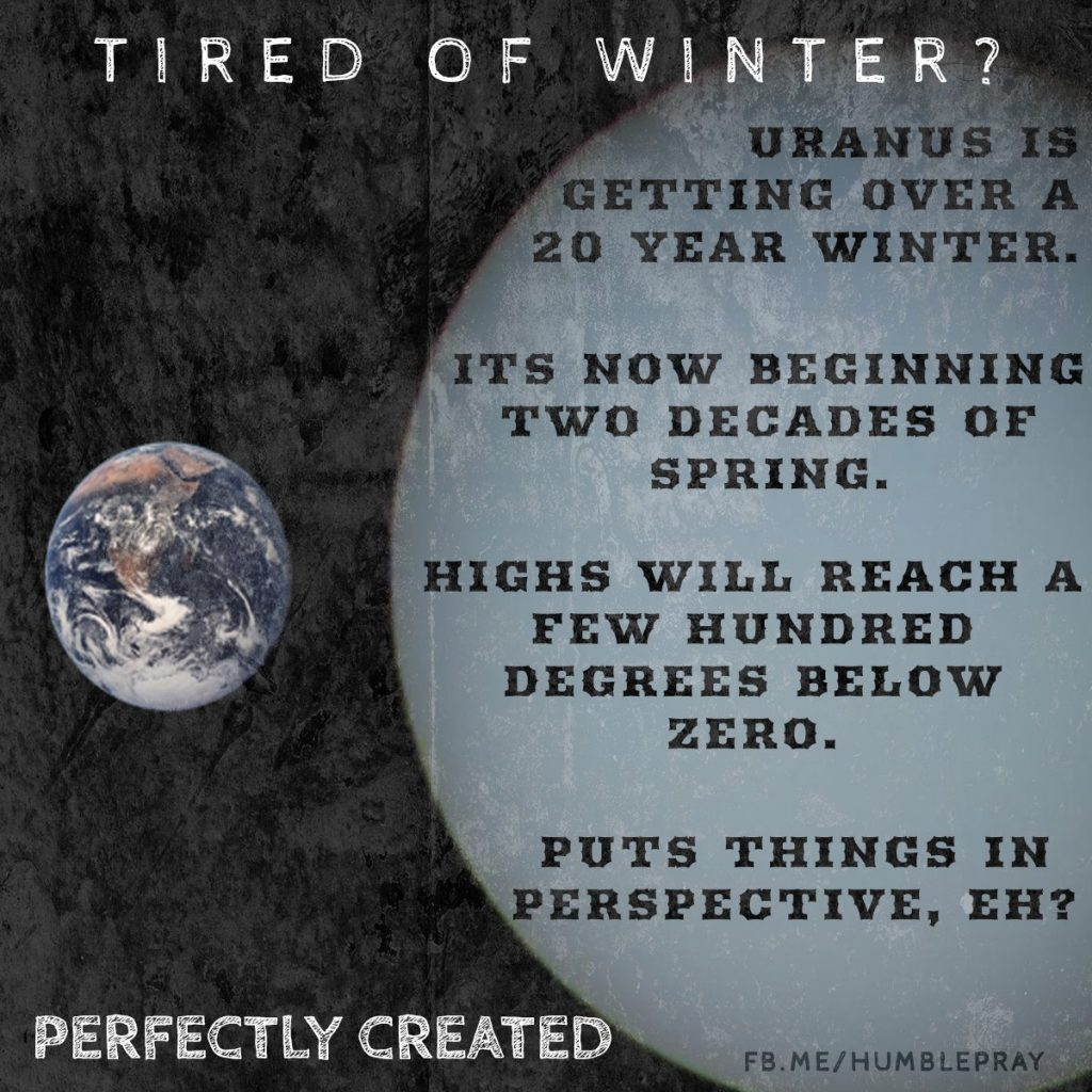 Tired of Winter